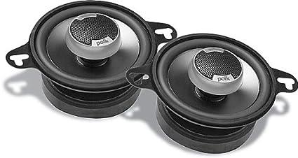 AA1351-A Polk Audio DB351 3.5-Inch Coaxial Speakers Pair, Black