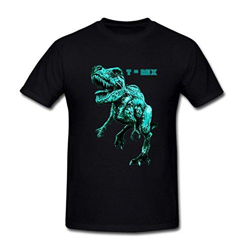 MoonArt Men's Tyrannosaurus Rex 03 T-Shirt XXL Black