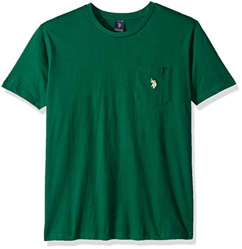 U.S. Polo Assn. Mens Crew Neck Pocket T-Shirt