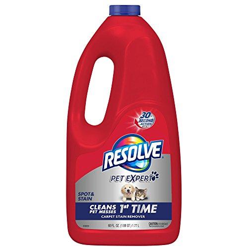 Resolve Pet Stain & Odor Carpet Cleaner Refill, 60 fl oz Bottle (Carpet Stain Tough Removal)