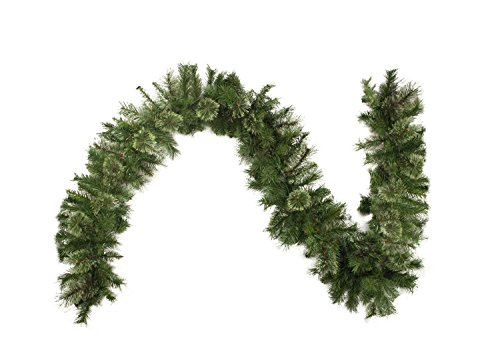 "Northlight 9' x 10"" Atlanta Mixed Cashmere Pine Artificial Christmas Garland - Unlit"