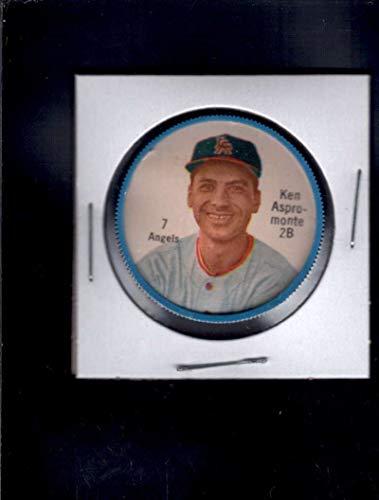 (1962 Salada Coins Var #7 Ken Aspromonte (Angels) NM J1723340)