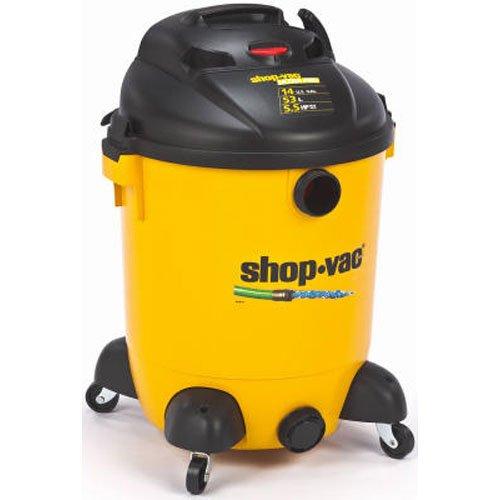Shop-Vac 9689400 5.5-Peak HP Ultra Pro Wet or Dry Vacuum with Built-In Pump, (Wet Vacuum Pump)
