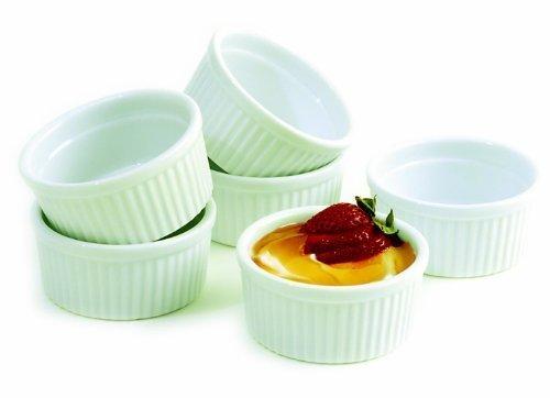 Norpro Ceramic (Norpro 6 Piece Porcelain Ramekin Set (Pack Of)