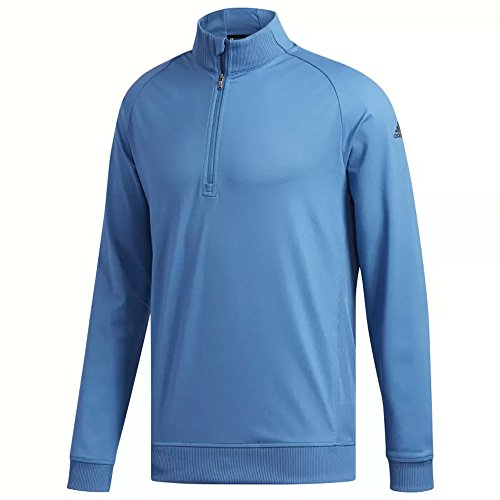 (adidas Golf Men's Classic Club 1/4 Zip Pullover, Trace Royal, X-Large)