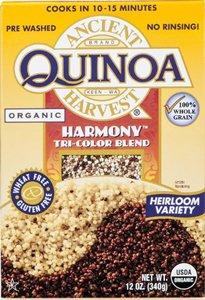 Quinoa Harmony Tri-Color Blend Gluten Free 12 Ounces (Case of 12) by Ancient Harvest Quinoa