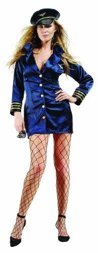 RG Costumes Women's Flight Captain, Navy Blue, (Flight Captain Womens Costumes)