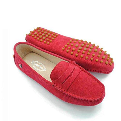 Meijili - Sandalias mujer Red