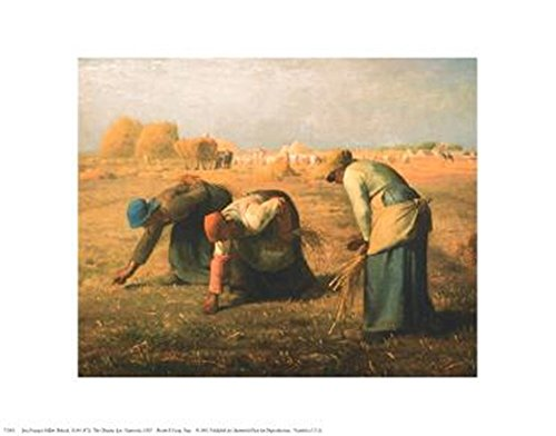 Gleaners by Jean Francois Millet Art Print, 14 x 11 inches