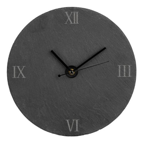 Premier Housewares Wall Clock - Slate