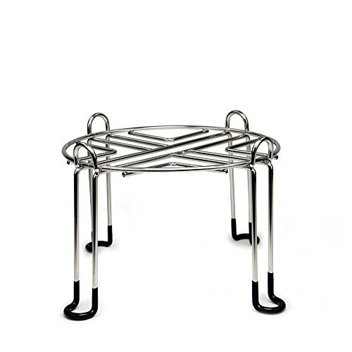 Berkey Water Filter Stainless Steel Wire Stand with Rubberized Non-Skid Feet for Travel and Other Small Sized Gravity Fed Water Filters - Raises Your 6 inches