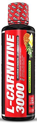 1 UP Nutrition L-Carnitine 3000, 16.2 fluid ounces (Pineapple)