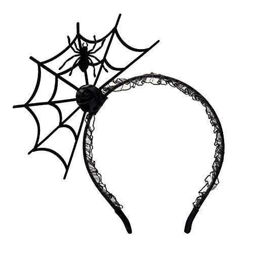 Sandalas Halloween Spider Hair Hoop Cosplay Headdress Devil Headband for Halloween Party Carnival Night Jewelry Limelight for Women Girl