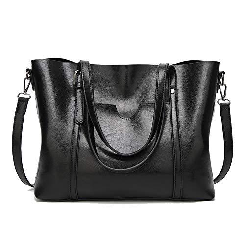 (Cawmixy Satchels Women Handbag Shoulder Bags Classic Tote Ladies Hobo Purses Designer Woman Top-Handle Bags (New)