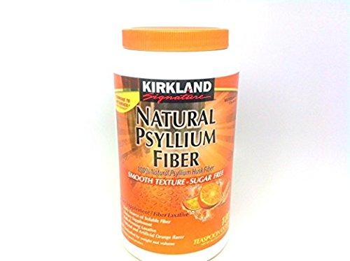 Kirkland Signature Psyllium Fiber Sugar Free 2 ct 180 ct by Kirkland Signature