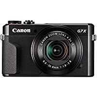 Canon PowerShot G7 X Mark II (Black) (Certified Refurbished)