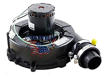 58w01 lennox furnace draft inducer exhaust vent venter for Lennox furnace motor price