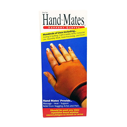 One Pair Hand-Mates Support Gloves, Size Medium