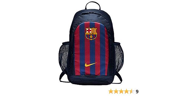 NIKE Stadium FC Barcelona Backpack Mochila, Unisex Adulto, Obsidian/Deep Royal Blue/University Gold, MISC