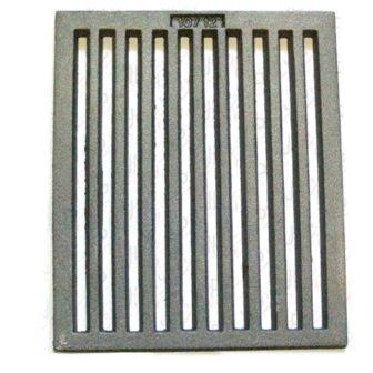 Roya Del Panel - Parrilla De Estufa Reja Hierro Fundido Rejilla De Chimenea 263x316mm