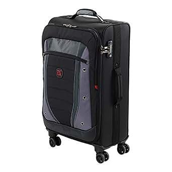 Wenger 604378 Softside Luggage, Grey/Black, 67 Centimeters