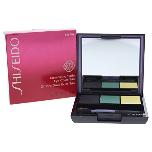 Luminizing Satin Eye Color - Shiseido Luminizing Satin Eye Color Trio, No.GR716 Vinyl, 0.1 Ounce