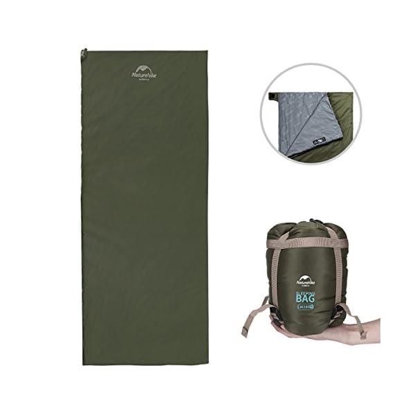 AKKEE Sleeping Bag Lightweight Portable Envelope Sleeping Bags Waterproof For 3 Season Camping Hiking Backpacking Travel Outdoor Activities Ultra Large Single For KidAdults