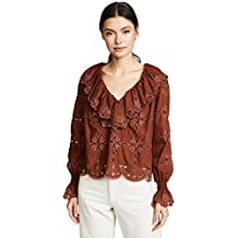 See by Chloé Women's Broderie Anglaise Top