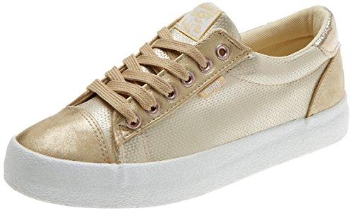 Dorado para Rolling Mujer Champagne Dorado Zapatillas de Glisten Deporte City Crack Oro MTNG Golden dPwIqBI