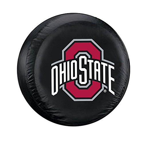 o State Buckeyes Tire Cover, One Size, Black ()