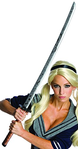 Rubie's Costume Co Women's Sucker Punch Babydoll Novelty Sword and Scabbard, Multi, One Size