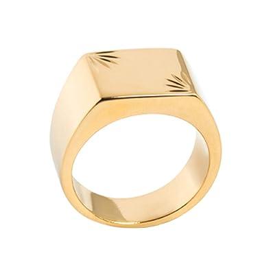 Gold Isady Homme Kjlfutc513 Femme Chevalière Bague Mixte Precious 5ARjL34