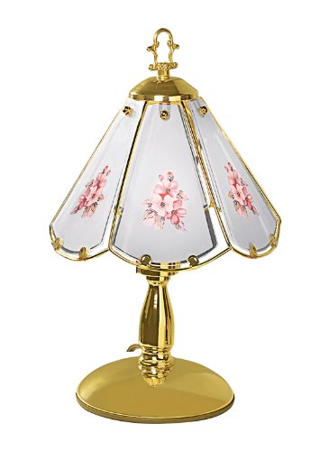 On A Floral Table Lamp (Easy Tap-On Floral Lamp)