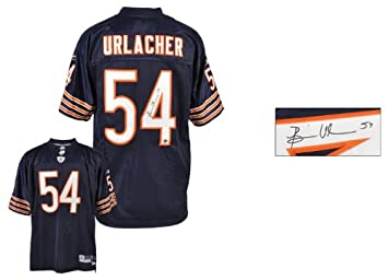 purchase cheap 7b779 219d6 Brian Urlacher Autographed Jersey | Details: Chicago Bears ...