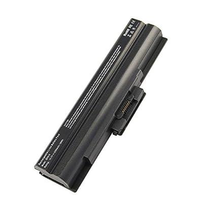 Futurebatt Laptop Battery for Sony Vaio FW SR VGP-BPS13 VGP-BPL1 VGP-BPS13/B VGP-BPS13/Q VGP-BPS13/S Series Notebook Black from Futurebatt