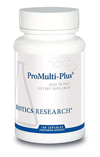 Biotics Research Pro Multi Plus – Daily Complete Multivitamin for Men – 180 Capsules