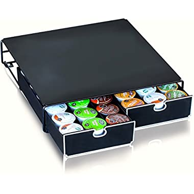 DecoBros K-cup Storage 2 Drawers Holder for Keurig K-cup Coffee Pods