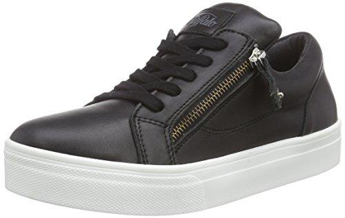 01 Sneakers 100 Top Low Buffalo Women's Black 15 Black Schwarz Nappa xSCvqCZnw