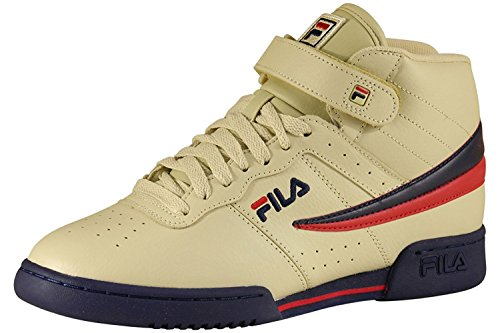 Fila Men's F-13V Leather/Synthetic Shoes Fila Cream / Fila Navy / Fila Red 13