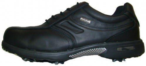 Crivit - Zapatos de golf para hombre negro Talla:45: Amazon.es: Deportes y aire libre