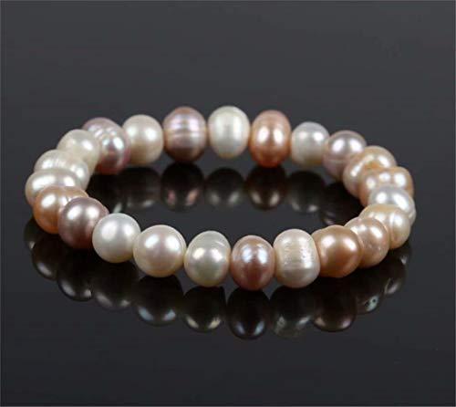 TMROW Freshwater Cultured Baroque Pearl Oval Bracelet Jewelry (Freshwater Pearl Best)