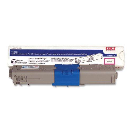 OKI 44469720 Toner Cartridge, 5K Yield, Magenta by OKI