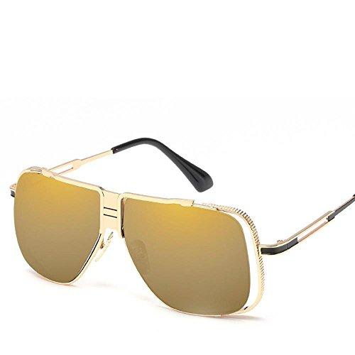 Gafas Moda Axiba Shing creativos Metal Gafas Sol Sol de de los Regalos par A Marco Europea Hombres Tendencia Retro Grande de dqqt1