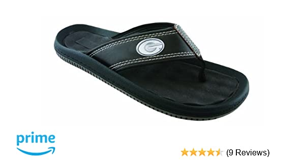 ea0442b21a2037 Amazon.com   NCAA Georgia Bulldogs Men s Waffle Concho Flip Flops   Sports  Fan Slippers   Sports   Outdoors