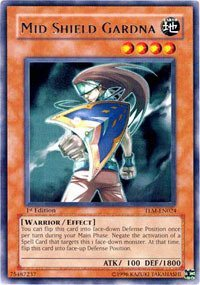 Yu-Gi-Oh! - Mid Shield Gardna (TLM-EN024) - The Lost Millennium - 1st Edition - Rare by