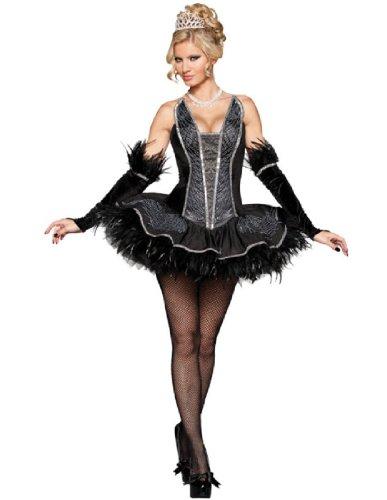InCha (Black Ballerina Halloween Costume)