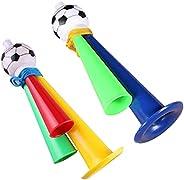 DTT Handheld Air Horn, Celebration Football Horn Blower, Large Air Horn Pump Loud Noise Maker, Whistles Cheeri
