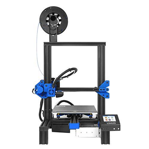 Longer 3D Printer LK2, FDM Desktop 3D Printer Aluminum DIY with Color Touch Screen Print Resume Printing (Best Color For Resume)