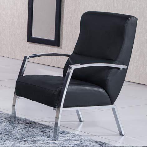 Adec - Sillon butaca tango, medidas 60 x 63 x 95 cm, color negro