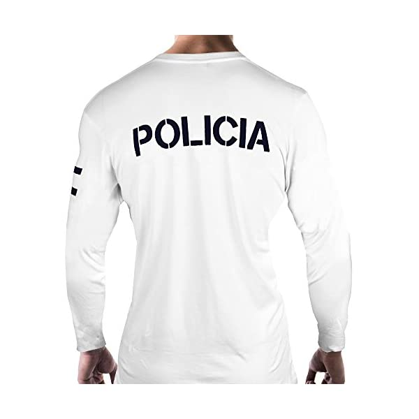 Aircops Camiseta Policia Manga Larga Hombre 7